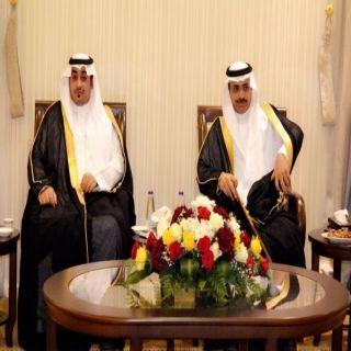 كبير مذيعي التلفزيون السعودي في ضيافة رجل الاعمال القحطاني