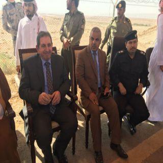 وطنيات ترصد زيارة السفير العراقي والقائم بالأعمال في العراق بمنفذ جديدة عرعر