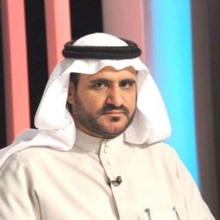 """الشاعر صالح بن عزيز يُطمئن جمهورالعرضة الجنوبية على صحة عمه """"سعد"""""""