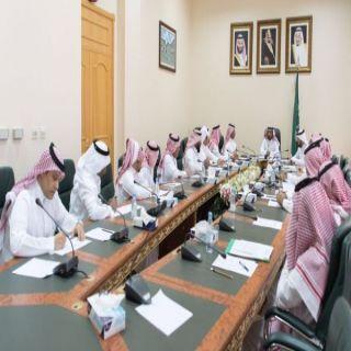 وكيل إمارة #الباحة يترأس الإجتماع التحضيري لمهرجان الرمان السادس