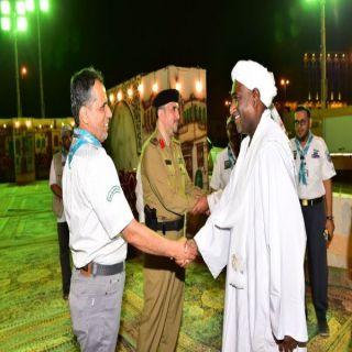 مساعد القنصل السوداني لشئون الحج يُشيد بجهود الكشافة في الحج