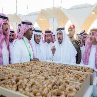 أمير القصيم تمورنا هي من أهم مرتكزات الأمن الغذائي وطموحنا الإقتصادي لاحدود له