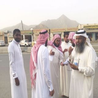 بر #بارق تطلق حملة حجاج المحافظة للعام 1438