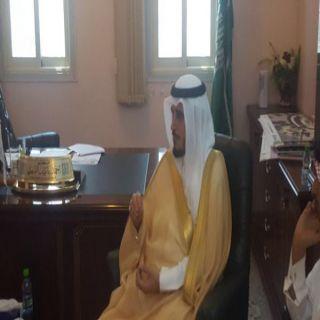 محافظ #بارق يزور فرع جامعة الملك خالد في تهامة
