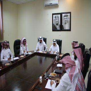 مُدير عام إدارة خدمات المياه في #الباحة يستقبل مُدير عام الطرق بالمنطقة