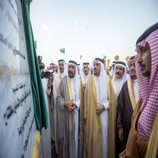 أمير القصيم يشيد بجهود أمين المنطقة لإنجاز ميدان بيرق التوحيد