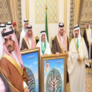 أمير عسير وسمو نائبه يشرفان حفل أسرة آل أبو ملحة بمحافظة #خميس_مشيط