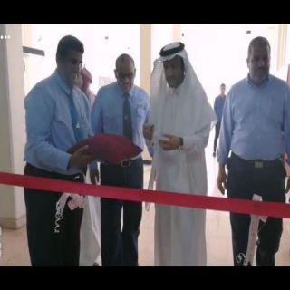 """صناعي #جدة يدشن  المعرض التوعوي بأضرار التدخين والمخدرات """" نبراس """""""