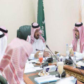 وكيل إمارة #الباحة يرأس إجتماع لجنة التنسيق والمتابعة لمجلس المنطقة