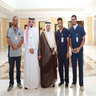"""أمير الرياض وسمو نائبه يستقبلان سفراء حملة """"سعود الطبية"""" لتطعيم ضد الأنفلونزا"""