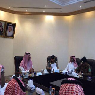 بلدية #بقيق تلتقي الجهات ذات العلاقة وتعقد إجتماعاً استعداداً لموسم الأمطار