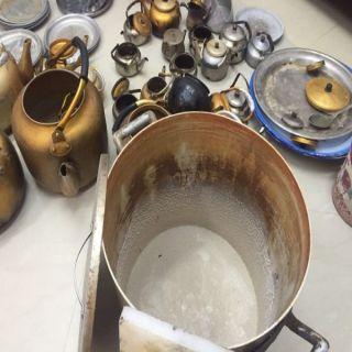 100 قطعة من الأواني غير صالحة للأستخدام من المقاهي تُصادرها بلدية #بارق
