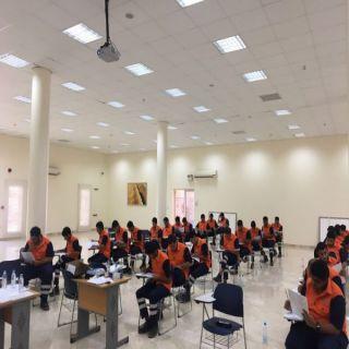 إدارة التدريب  بهيئة الهلال الأحمر بالقصيم أقامت  دورات تجاوز المستفيدون منها 2200 متدربا