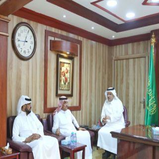 مدير #تعليم_البكيرية يلتقي رئيس بلدية المحافظة