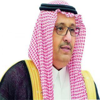 أمير الباحة يعزي عائلة آل السعدي في وفاة والدهم