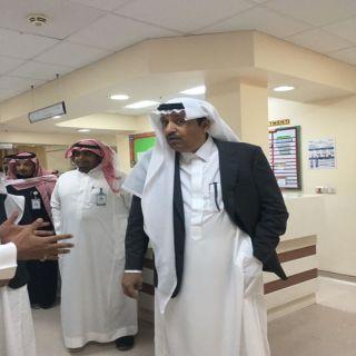 فيديو -أمير #الباحة يُفاجئ مُستشفى الامير مشاري بن سعود بزيارة تفقدية