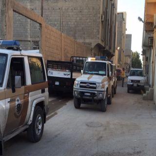 """شرطة القصيم تبدأ بتنفيذ أعمال الحملة الوطنية الشاملة """" #وطن_بلا_مخالف"""