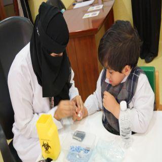 مركز جمعية الأطفال المعوقين بـ #عسير يفعل اليوم العالمي لمرض السكري