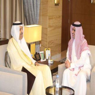 سمو أمير #الباحة يلتقي معالي وزير التعليم الدكتور أحمد العيسى