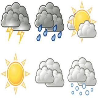 الأرصاد رياح نشطة على 4 مناطق وسماء غائمة مصحوبة بهطول امطار على 4 مناطق