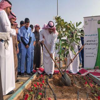 #جامعة_القصيم تدشن حملة لزراعة 9000 شجرة