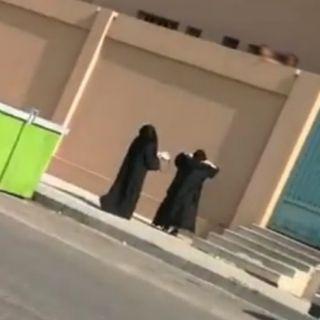 #تعليم_مكة واقعة هروب الطالبات وقعة في إحدى مدارس جنوب مكة