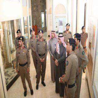 اللواء الشمراني يتفقد مراكز الدفاع المدني في #تيماء
