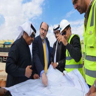 فريق وزارة الشؤون البلدية يقف على مشاريع درء أخطار السيول بمدينة #بريدة