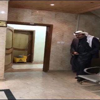 بالصور- أمير الباحة يُفاجئ عددً من القطاعات الأمنية بزيارة تفقدية