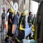 """""""المدينة المنورة""""وفاة 12 وإصابة 130 في حريق فندق المنطقة المركزية بالمدينة المنورة"""