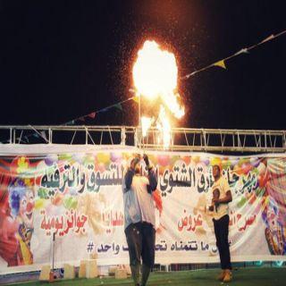 فرقة صدى الإبداع تعود بعروض مميزة في فعاليات #مهرجان_بارق