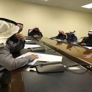 مديرعام فرع هيئة الشمالية يُناقش سير العمل مع مُديري الفروع والإدارات في المنطقة