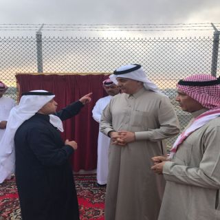 الوزير الفضلي يدشن مشاريع المياه بمركز الشعف التابع لمدينة أبها