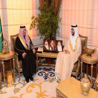 أمير عسير يلتقي السفير الإماراتي لدى المملكة