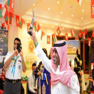 فعاليات ثقافية وشعبية سعودية في دبلوما الاعلام الكشفي بالقاهرة