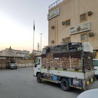 شرطة البطحاء وشرطة الفيصلية والخالدية ، خلال (٢٤) ساعة تضبطان (١٧٠) مخالف ومستودع قطع غيار مجهولة المصدر
