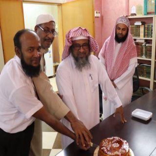 """الإحتفال بالطالب """"طلحة"""" لإتمامه حفظ للقرآن الكريم بتحفيظ #بارق"""