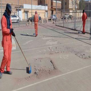 أمين الشمالية يوجه إدارة النظافة بتكثيف اعمالها عقب موجة الغبار