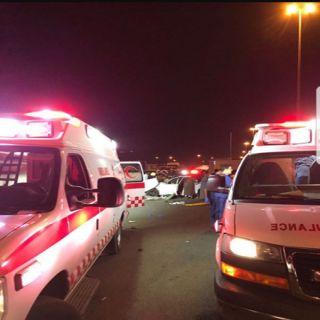 فاجعة «الكدمي» تتكرر مرة أخرى.. وفاة ٦ من أسرة واحدة في حادث بجازان