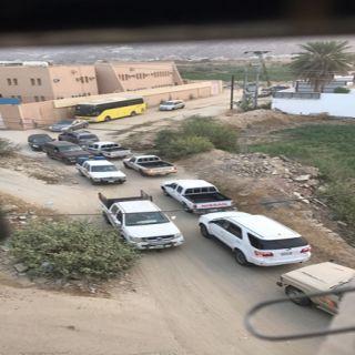 بالصور مدارس ثلوث المنظر تنتظر وعود بلدية #بارق