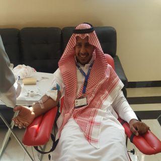 فرع المياه بـ #الجبيل ينظم حملة التبرع بالدم لموظفيه