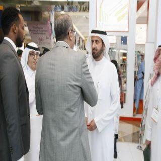 """""""الربيعة""""يزور جناح مجموعة مستشفيات السعودي الألماني بمعرض الصحة بـ #دبي"""