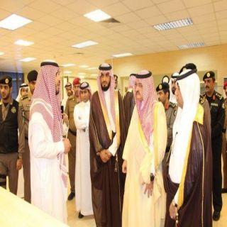 مُحافظ #جدة يُدشن مكتب الأحوال المدنية الجديد بحلته الجديدة