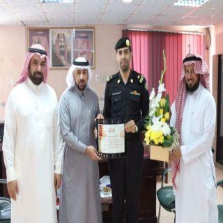مدير #تعليم_الرس يشكر قيادة الدوريات الأمنية في المحافظة