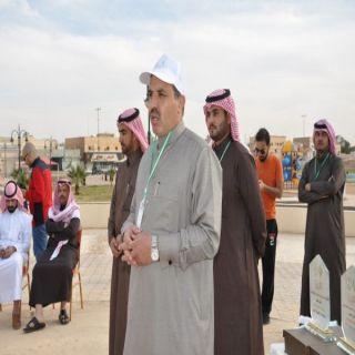 الدخيل بالتعاون مع عدد من الجهات يدشن حملة 1000 شتلة بالشمالية