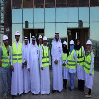 الربيعة يتفقدية مجمع الملك عبدالله الطبي و مستشفى الولادة التخصصي بشمال جدة