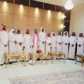 محافظ #بارق يلتقي أعضاء المجلس البلدي في دورتيه السابقة والحالية