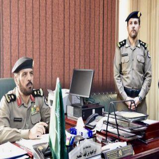 مدير شرطة القصيم يتفقد شرطة محافظة الأسياح