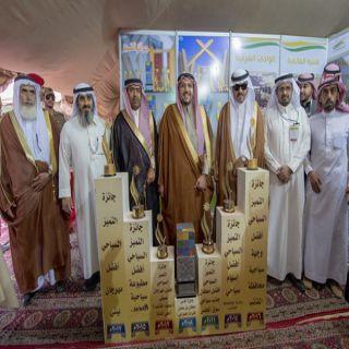 أمير القصيم يشهد ختام مهرجان المانعية لبطولة السيارات الرملية