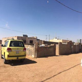 عرعر-انبعاث حارارة وبخار ماء من باطن الأرض بمنزل في السليمانية والدفاع المدني يُباشر الموقع